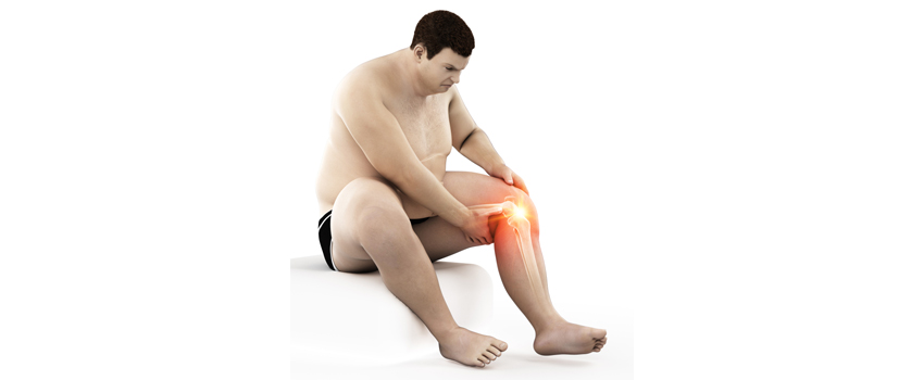 being over weight is harmful for bones and knees